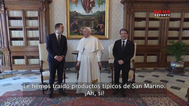 Capitanes regentes de San Marino invi...