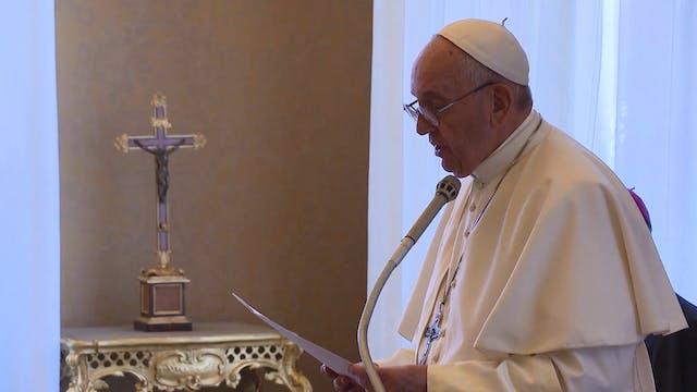 "Papa a franceses: ""Hoy ser cristiano ..."