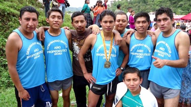 From star runner to seminarian