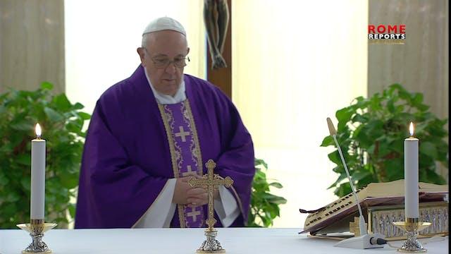 Papa Francisco: La pereza es una nieb...