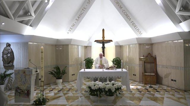 """Pope Francis at Santa Marta: """"Convert..."""