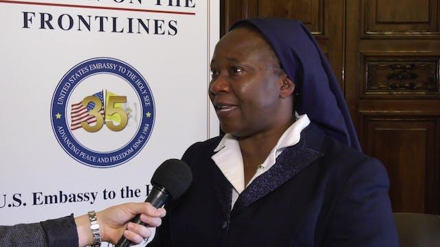 Missionary sister unites Muslims, Pro...