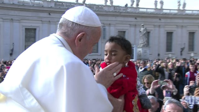 """Pope in Audience: """"The Lord's Prayer""""..."""