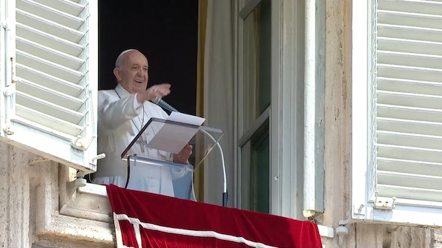 Pope Francis announces trip to Slovakia at Angelus