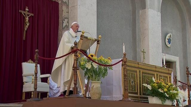 Francisco en Misa del Corpus: A menudo, por desgracia, quien grita más es más fu
