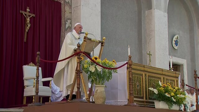 Francisco en Misa del Corpus: A menud...