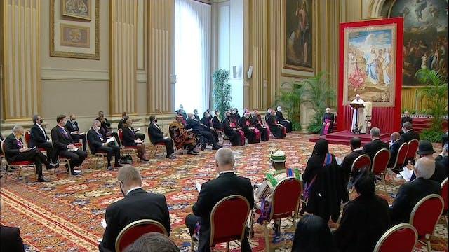 "Pope warns ambassadors of ""educationa..."