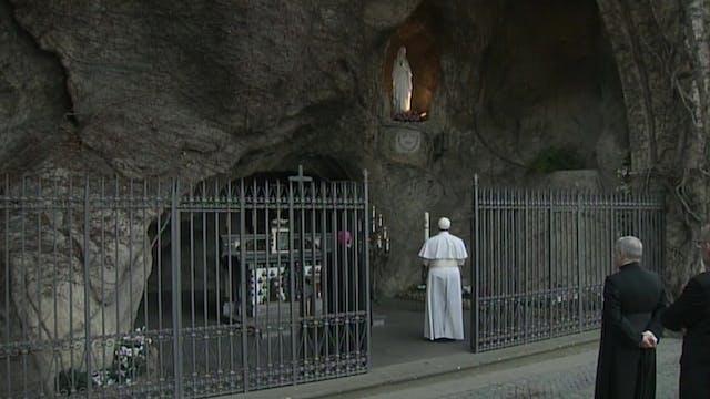 El Papa rezará un rosario mundial con...