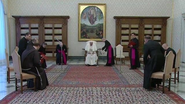 """Francisco: """"Un cristianismo sin litur..."""