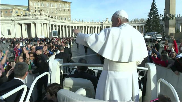 Pope recounts recent apostolic trip t...
