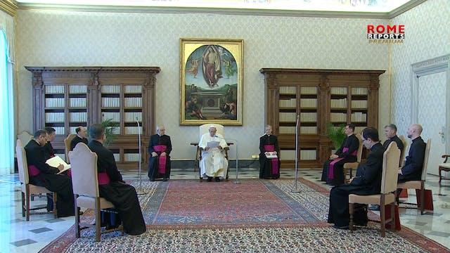 El Papa reflexiona sobre la oración d...