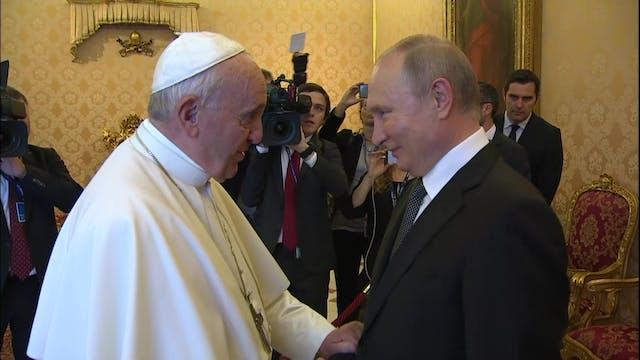 Putin llega con más de 50 minutos de ...