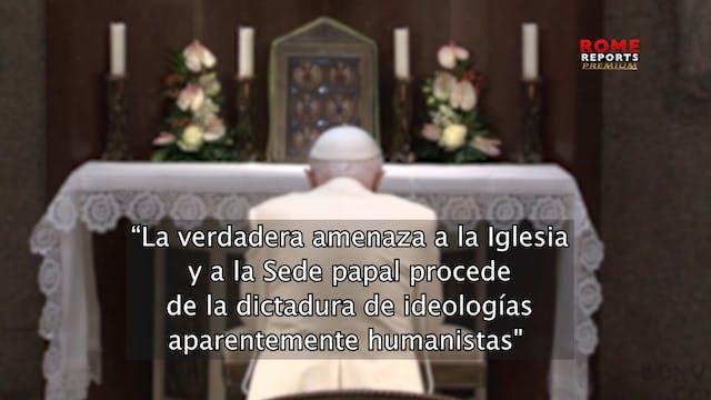 Benedicto XVI lamenta dictadura ideol...