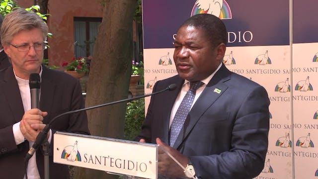 Presidente de Mozambique: El Papa vis...