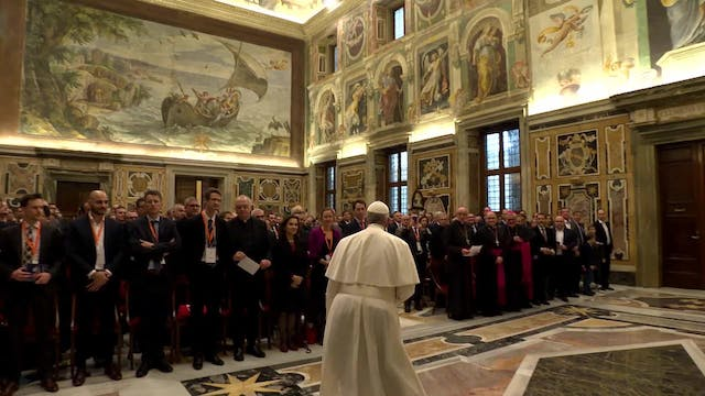 Pope to business leaders: you have ro...