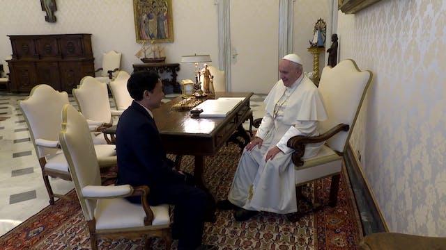 New FAO director meets pope in Vatican