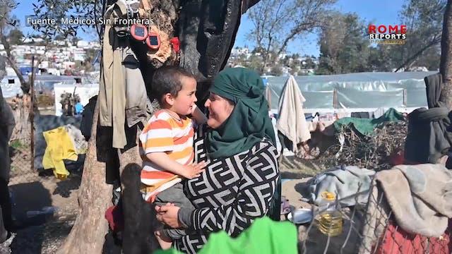 Campo de refugiados de Lesbos, 5 años...