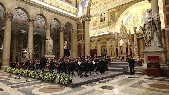 La mejor música sacra llega a las basílicas de Roma