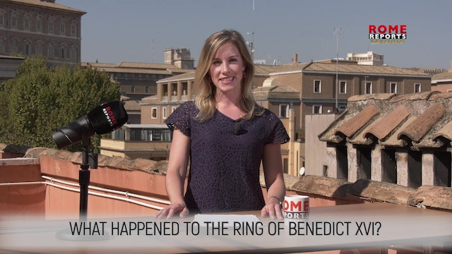 WHAT HAPPENED TO THE RING OF BENEDICT XVI?