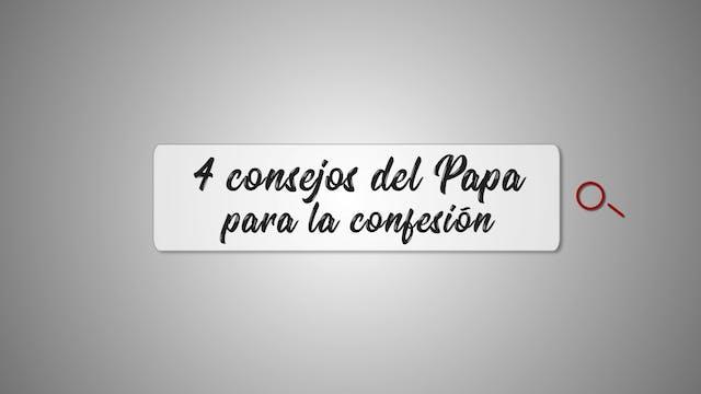Los 4 consejos del Papa Francisco par...