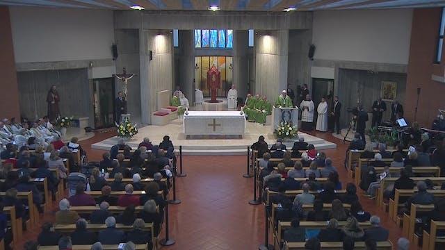 El Papa visita una parroquia: La leng...