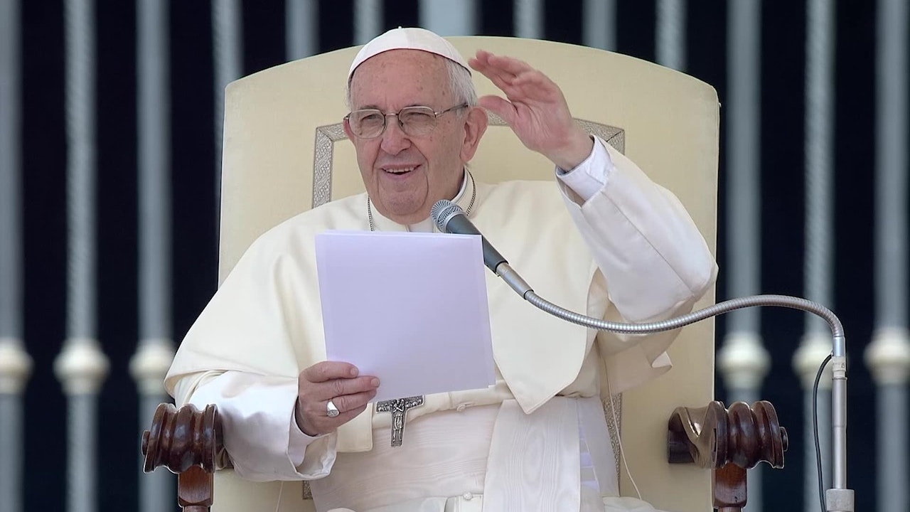Pope's weekly catechesis