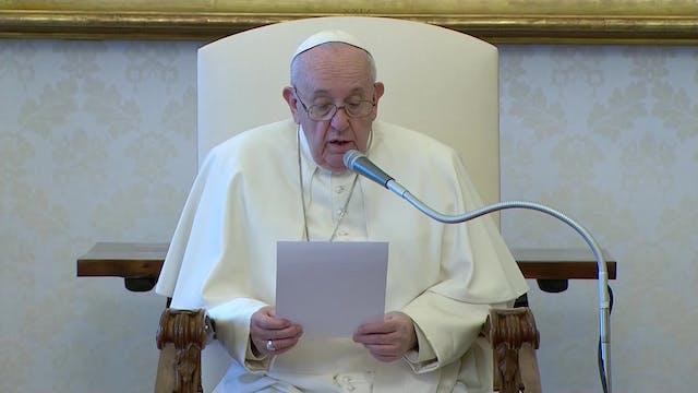 Papa en explica por qué la oración vo...