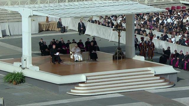 Papa explica en la audiencia general ...