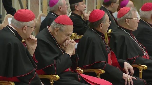Pope Francis cuts cardinals' salaries...