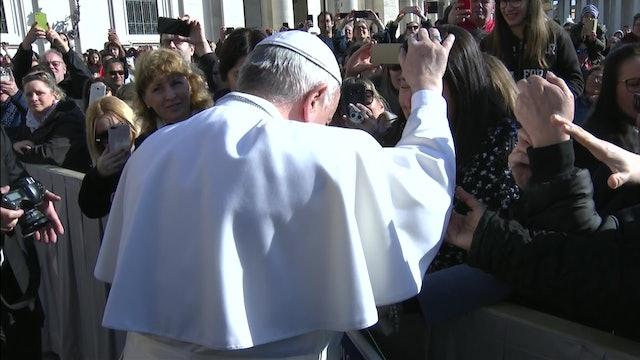 Papa: Jesús pide conversión pero no amenaza a nadie