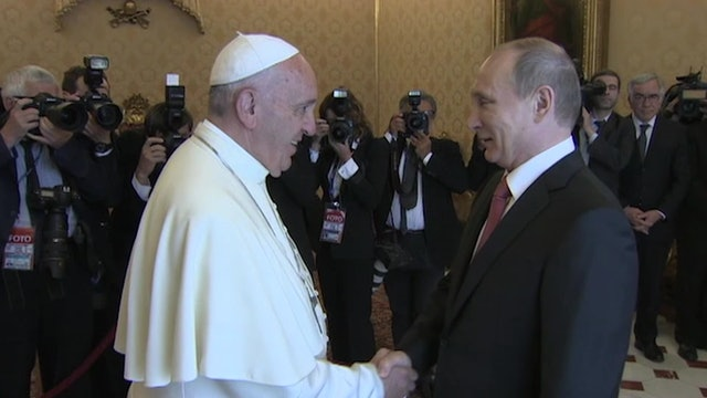 Putin returns to the Vatican: It will be the 3rd time he will meet Pope Francis