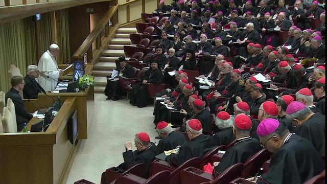 Papa: No podemos limitarnos a condenar los abusos. Busquemos medidas concretas