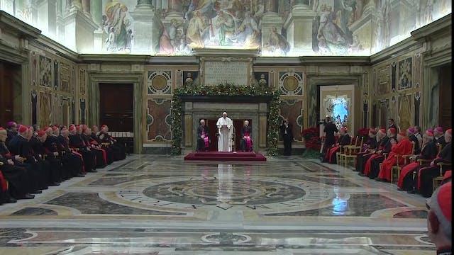 New constitution to revamp Vatican Cu...
