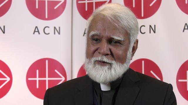 Cardenal de Pakistán: Admiro a los cr...