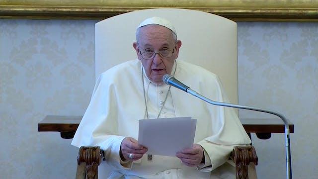 Papa explica en qué consiste la oraci...