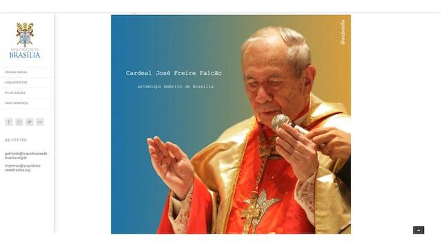 El cardenal brasileño José Freire fal...