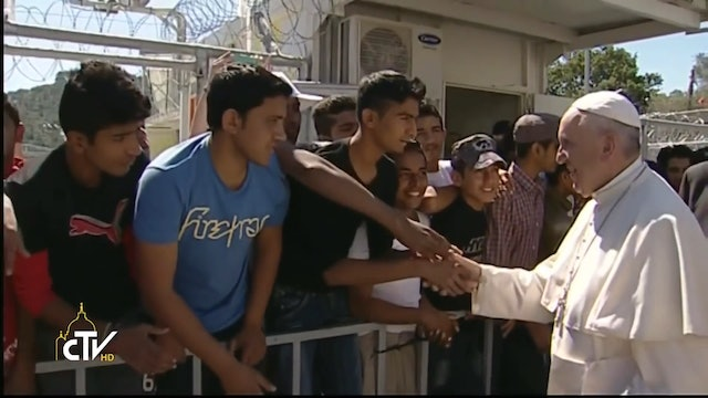 Vatican delegation visits Lesbos to prepare another papal trip