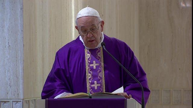 Papa pide oraciones por los sin techo...