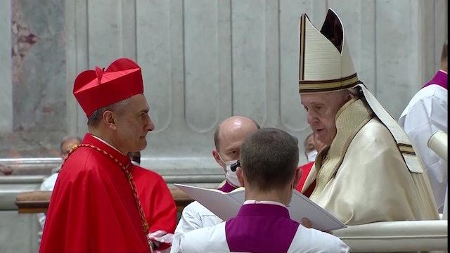 Cardenal Mauro Gambetti es el nuevo arcipreste de la basílica de San Pedro