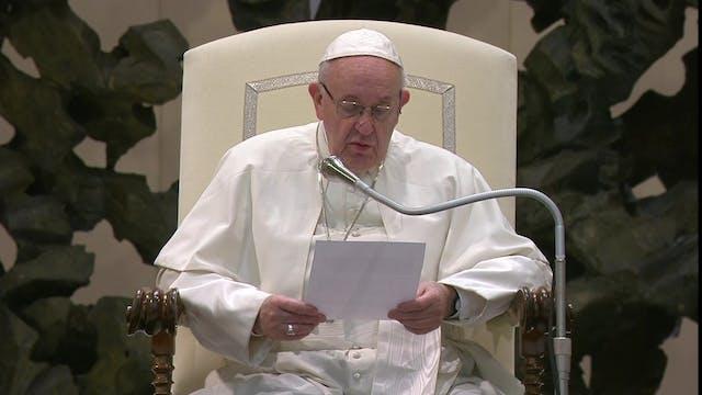 El Papa explica la relación entre las...