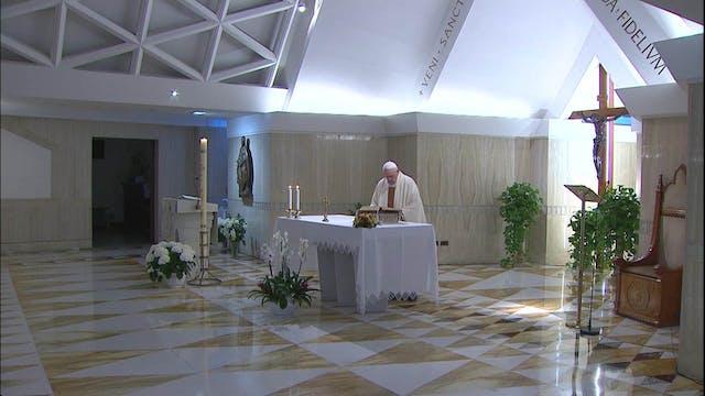 Papa en Santa Marta: Jesús siempre no...