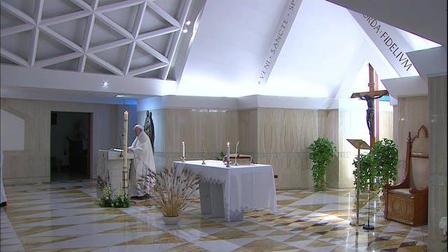 Papa en Santa Marta: La fidelidad de ...