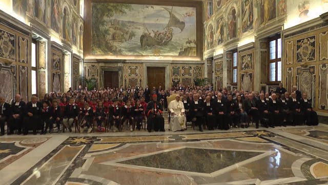 Pope recalls 300-year-old saint's edu...