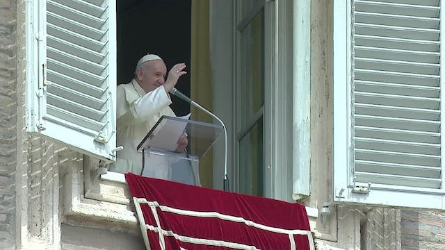 Pope at Angelus: The life of a Christ...
