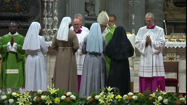 Pope celebrates Mass for Missionary M...