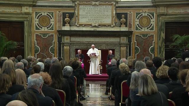 Los 5 consejos del Papa Francisco a los periodistas