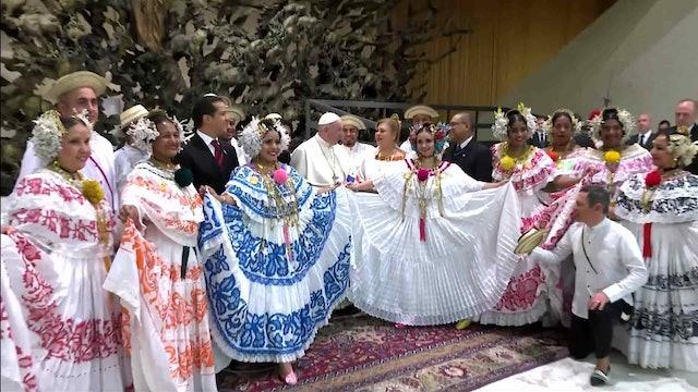 Panamá participa en ceremonias papales para finalizar los preparativos de la JMJ