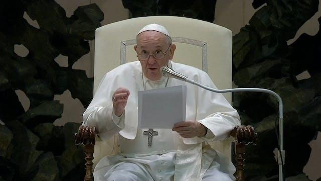 Papa explica el sentido de la Alianza...