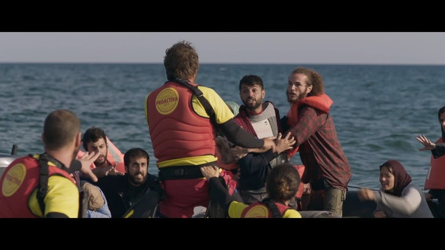 The story of two lifeguards who left everything to save refugees in the open sea