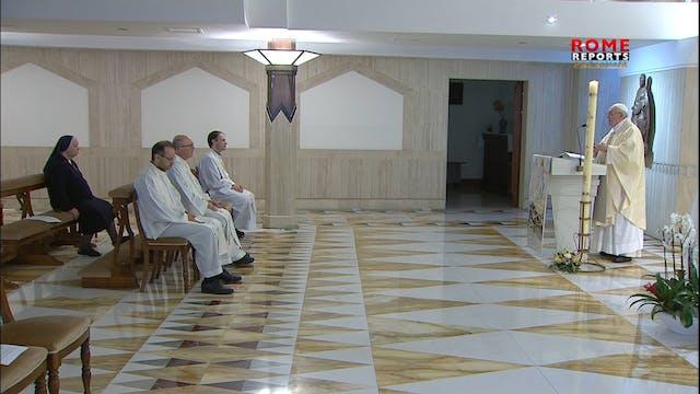 Papa en Santa Marta: La Iglesia crece...